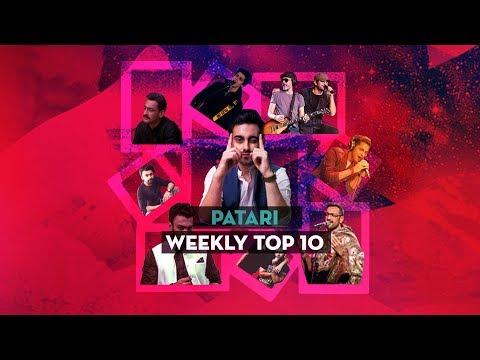 Patari Top 10 - July 16th 2018 | Pakistani Songs 2018