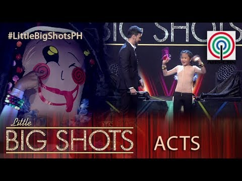Little Big Shots Philippines: LJ | 11-year-old Novelty Dancer