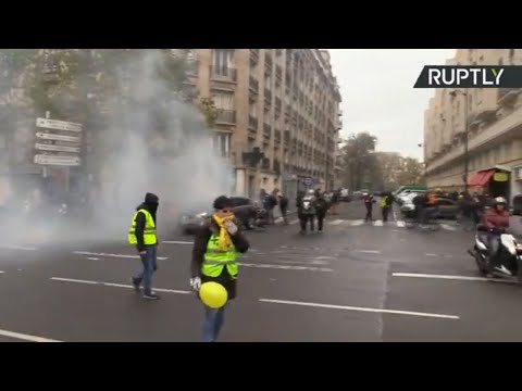 Yellow Vests march in Paris ahead of first anniversary