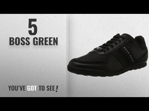 Top 10 Boss Green [2018]: BOSS Green Men's Arkansas_Lowp_nymx1 10201616 01 Low-Top Sneakers