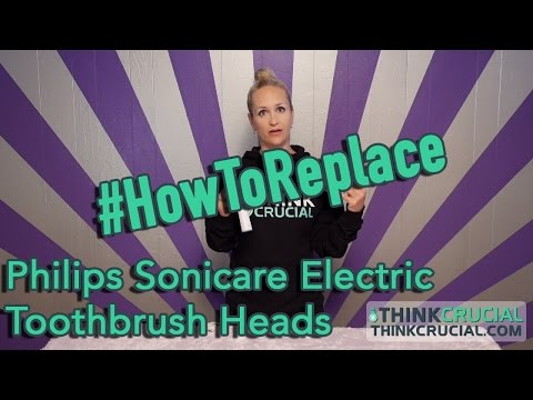 Replace Your Philips Sonicare Electric Toothbrush Heads - Part #HX-6013