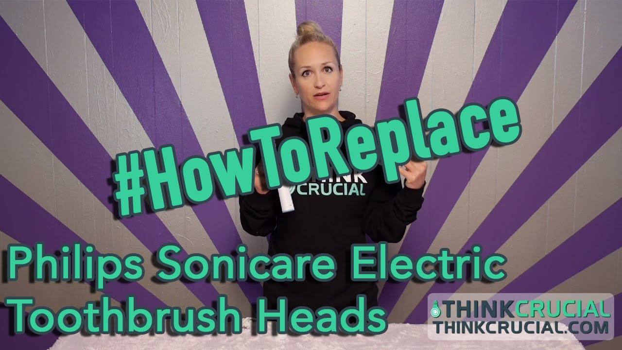Replace Your Philips Sonicare Electric Toothbrush Heads Part Hx Eeac324 Snapon Recovery Recycling Equipment Parts Youtube Premium