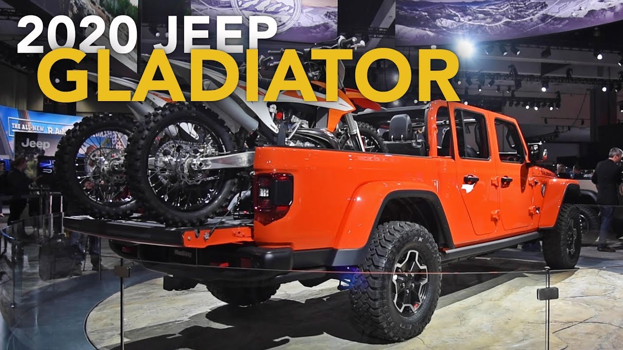 2020 Jeep Gladiator First Look 2018 La Auto Show