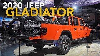 2020 Jeep Gladiator First Look - 2018 LA Auto Show