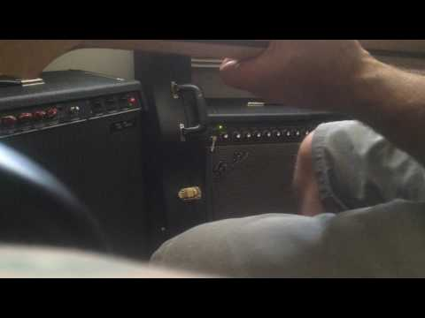 """Fender Red Knob Vs Cyber Twin """"modded Twin Sound"""""""