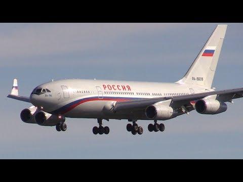 ᴴᴰ ✈ RUSSIAN POWER! Ilyushin IL-96 Russian Government