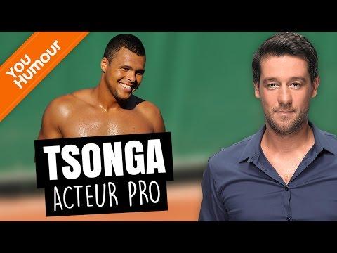 TITOFF - Tsonga, acteur professionnel