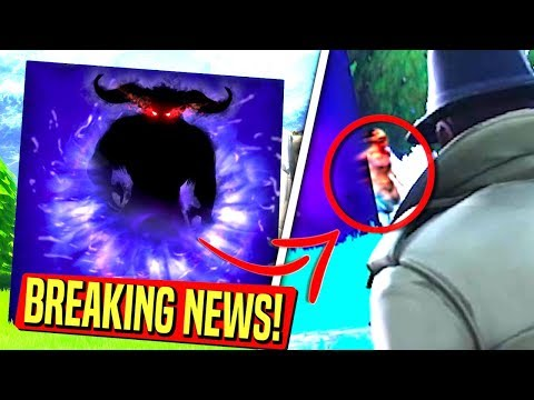 *BREAKING NEWS* SOMETHING JUST CAME OUT OF THE CUBE! Fortnite Cube UPDATE!: Battle Royale