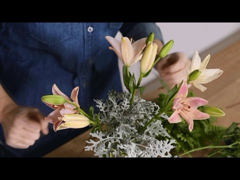 Creative Flower Arrangement Containers Youtube