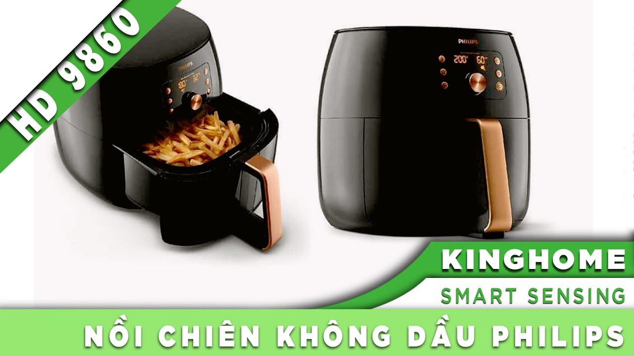 KingHome.vn] Giới thiệu Công nghệ Smart Sensing trên nồi chiên không dầu Philips HD9860 –