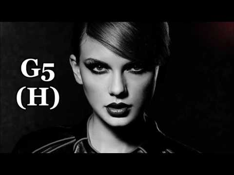 Taylor Swift: Bad Blood: Harmonized G5 Belts