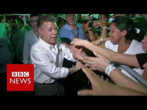 Nobel Peace Prize for Colombia's Juan Manuel Santos - BBC News