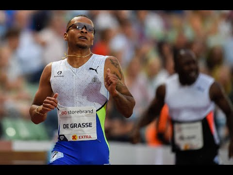 Canadian sprinter Andre De Grasse takes bronze medal in 100m