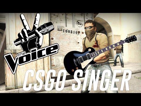 Amazing Singing Skills CSGO - The Voice