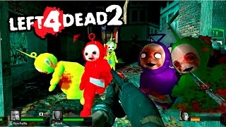 APOCALIPSIS DE TELETUBBIES - Left 4 Dead 2 con Mods