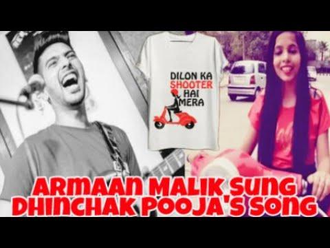 Dilon Ka Shooter |Armaan Malik Funny|Dhinchak Pooja| Sonu Nigam|Armaan's Reaction #stayDhinchak