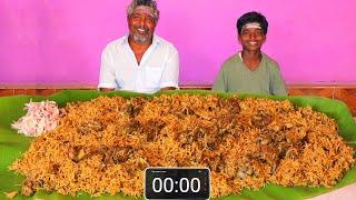 5 KG MUTTON BIRYANI EATING CHALLENGE   WORLD FAMOUS HYDERABAD MUTTON BIRYANI   FARMER COOKING