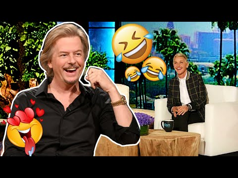 THE ABSOLUTE BEST OF David Spade on ELLEN!!!😂😂😃😂