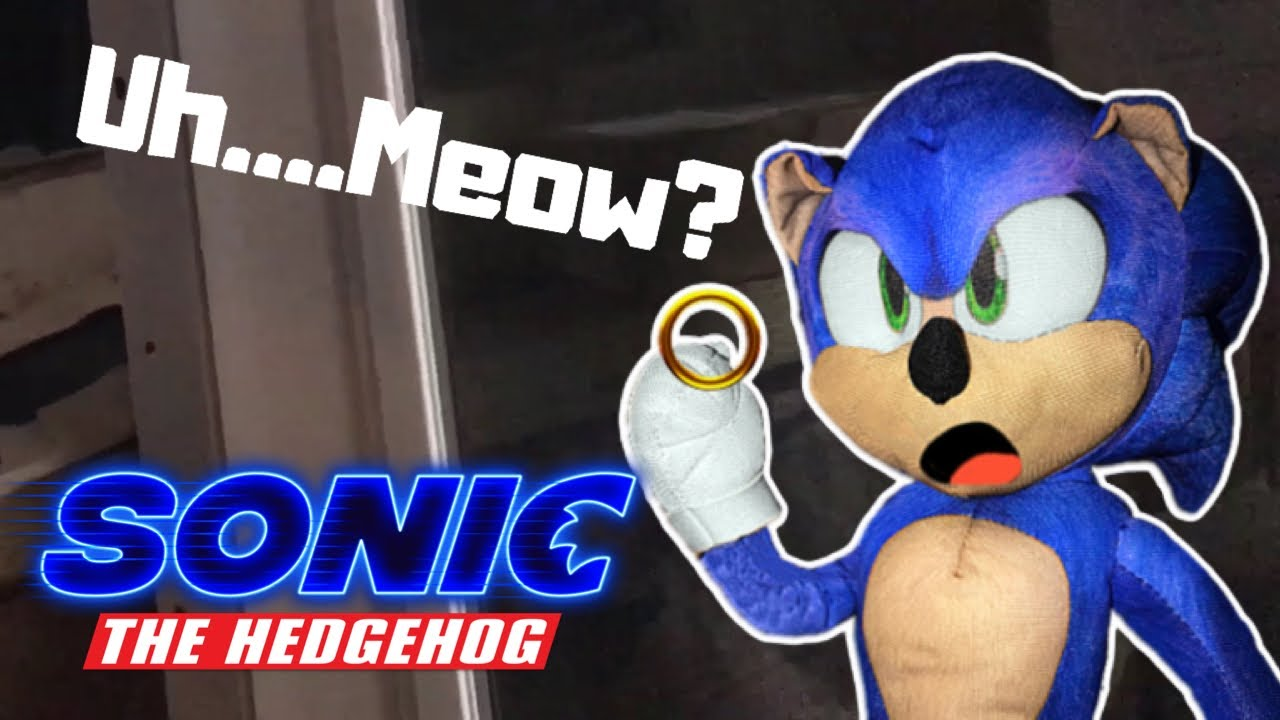 Uh Meow Scene Plush Form Sonic The Hedgehog 2020 Movie Youtube