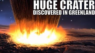 Huge Asteroid Crater Found Under Greenland Ice