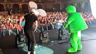 Deadmau5 meets green buddy — a buddy adventure