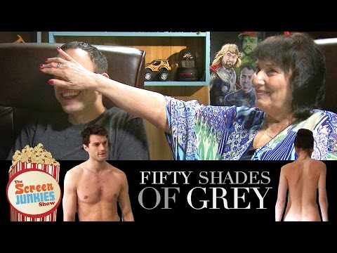 Watching Fifty Shades of Grey with My Mom!