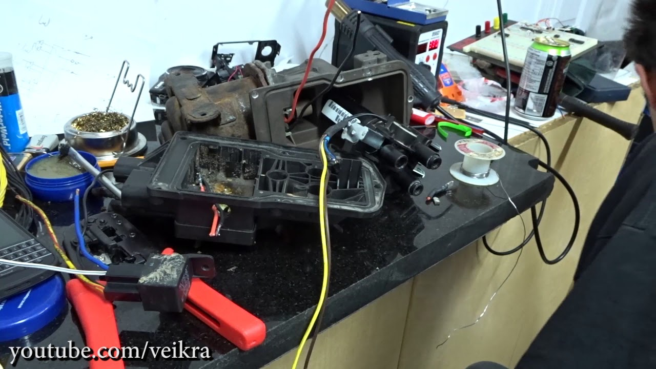 hacking factory air ride wabco air compressor trailblazer saab 97x  [ 1280 x 720 Pixel ]