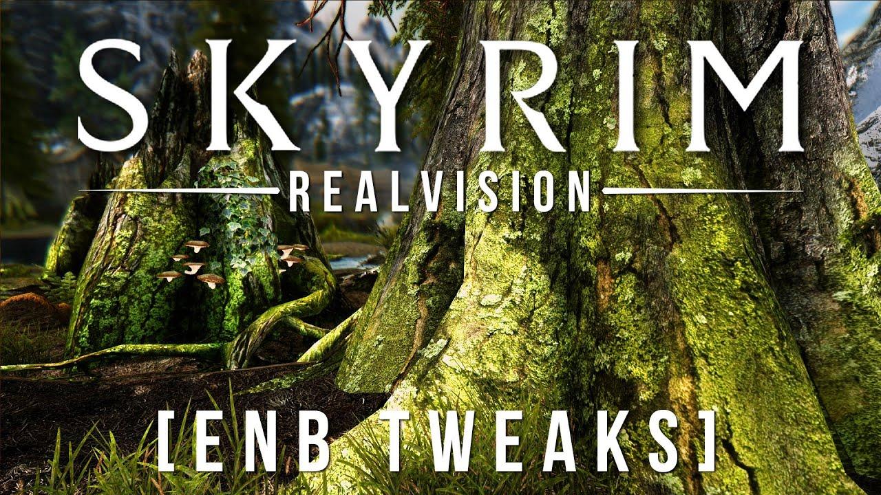 Скачать Realvision Enb для Скайрима