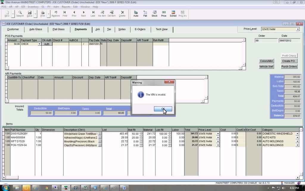 Process An EDI Invoice YouTube - Edi invoice