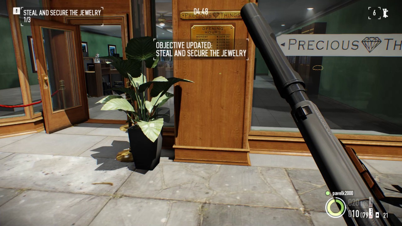 Payday 2 : Jewelry store stealth solo (normal) - YouTube