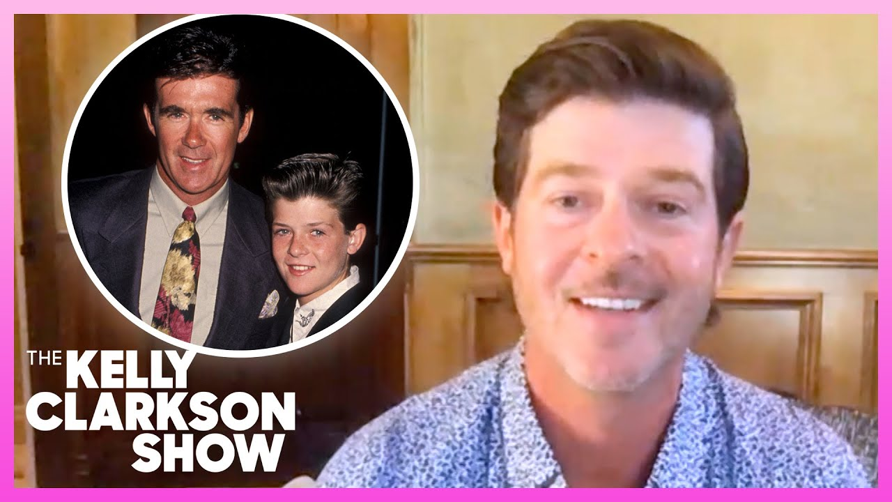 Robin Thicke Wrote A Song For His Late Father Alan Thicke