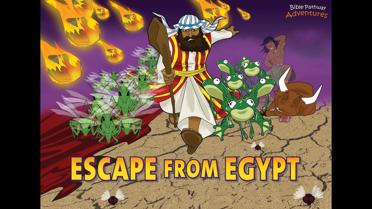 Escape from Egypt | Moses and the Ten Plagues - YouTube