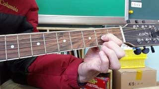 bread if 기타 연주 연습