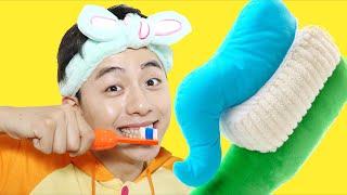 치카치카 우리 모두 다 같이 양치해요! 인기동요 Brush Your Teeth Song for kids Nursery Rhymes - 마슈토이 Mashu ToysReview