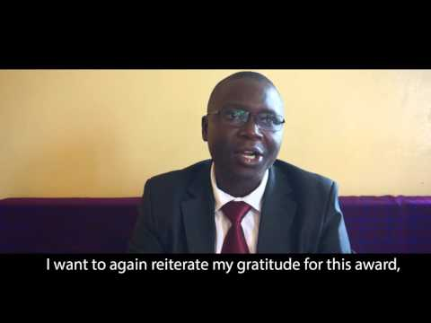 Health eVillages Frontline Healthcare Hero Award: Wycliffe Omwanda
