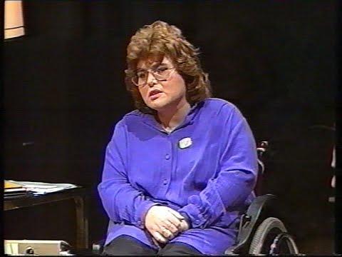 ORF Club 2 zum Hungerstreik für Pflegegeld-Nov.1990