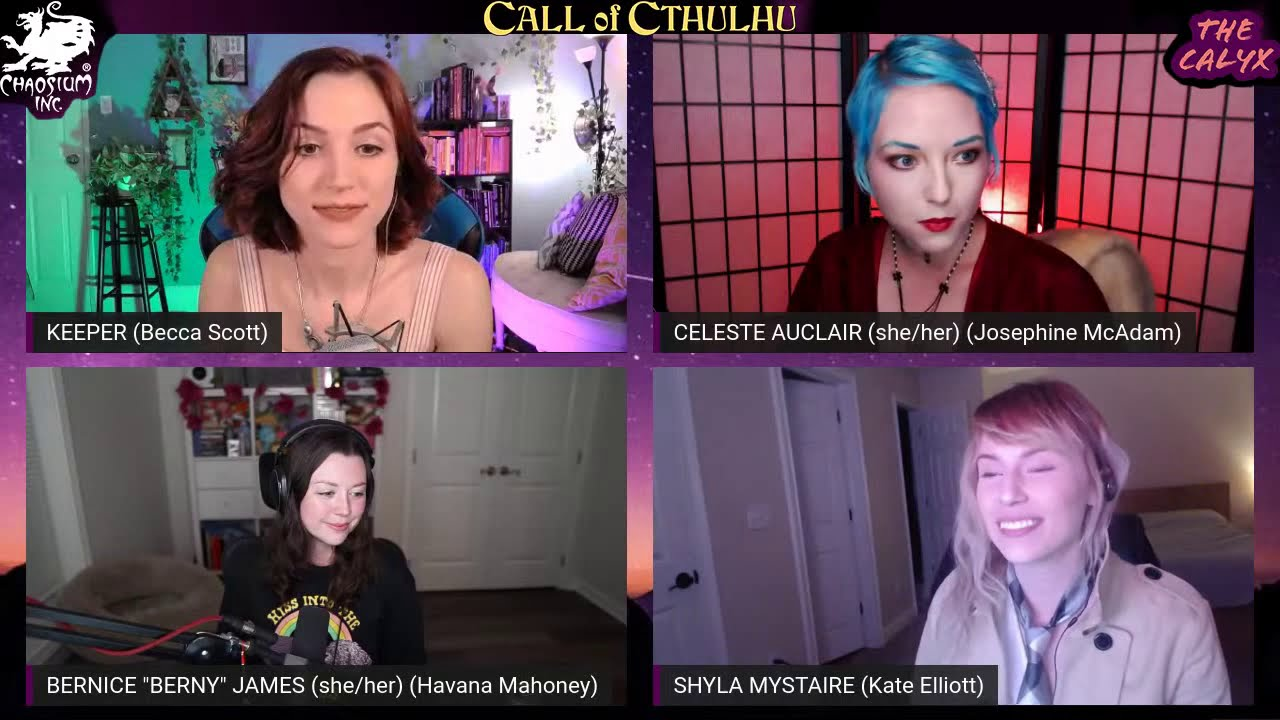 "Download The Calyx - ""The Crimson Letters"" Part 1/3 - Cthulhu RPG - Kate Elliott, Havana Mahoney, Jo McAdam"