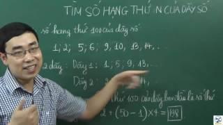 Toán nâng cao lớp 5- Tìm số hạng thứ n của dãy số