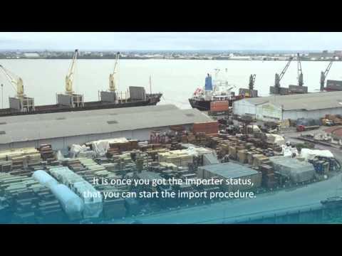 Importer des produits au Cameroun dans un but commercial.