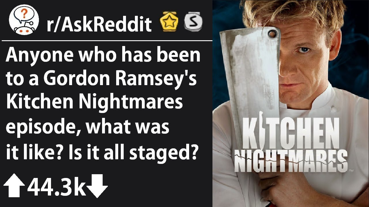 Download Customers in Gordon Ramsay's Kitchen Nightmares share their experience (r/AskReddit)
