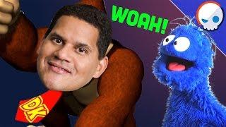 Nintendo Theory: Reggie Fils-Aimé is Donkey Kong | Arlo