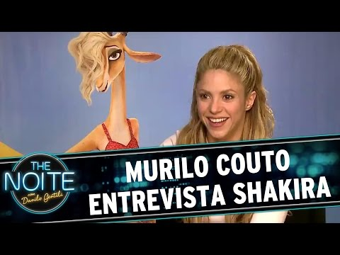The Noite (14/03/16) - Murilo Couto Entrevista Shakira