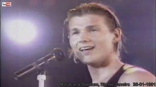 a-ha live - Stay on These Roads (HD), Rock in Rio II, Rio de Janeiro - 26-01-1991