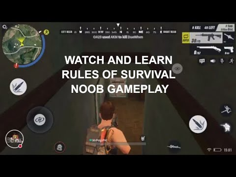 Rules of Survival! Live Gameplay