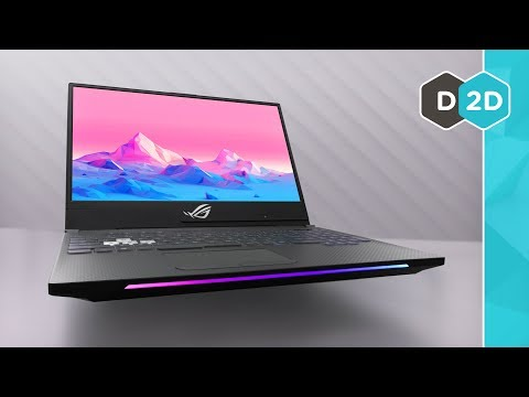ASUS Strix II - The Fastest Gaming Laptop Screen