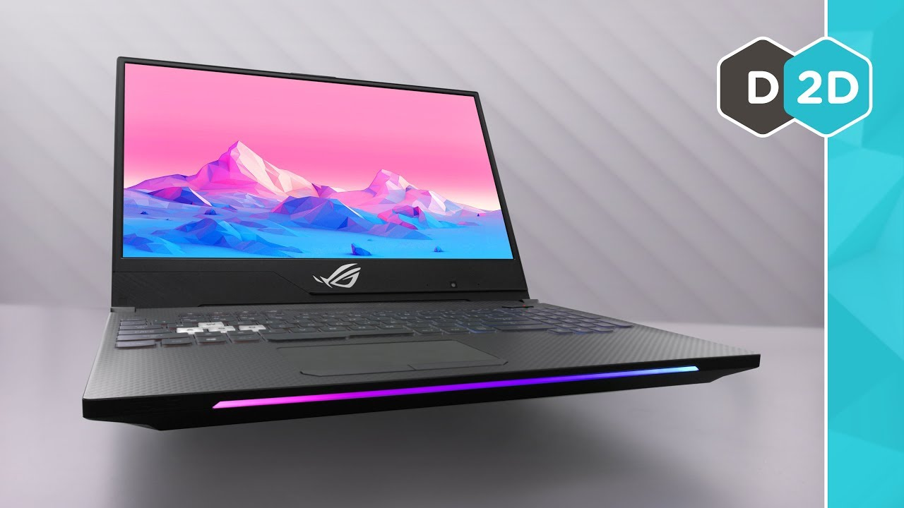 ASUS Strix II Review - The Fastest Gaming Laptop Screen