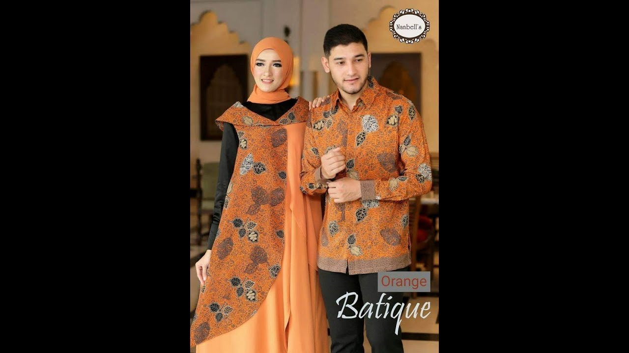 Baju Gamis Batik Keluarga 2018 2019 Gamis Kondangan Lebaran Pesta