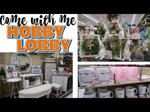 HOBBY LOBBY * COME WITH ME/ SPRING DECOR & MORE /PART 2