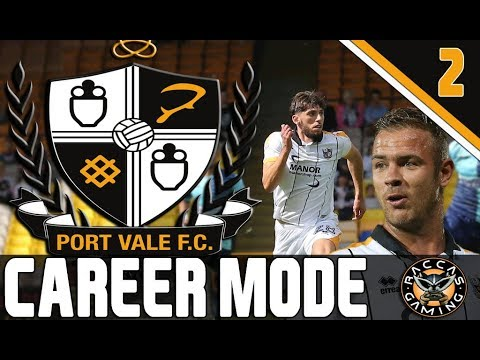 LIVE!!! FIFA 18 PORT VALE Career Mode #2 @RaccasGaming