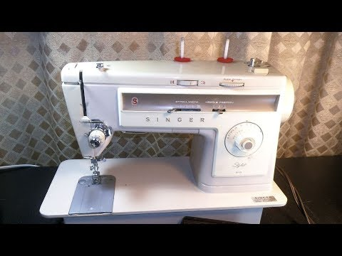 Tour the features of the Singer Model 513 Stylist Sewing Machine